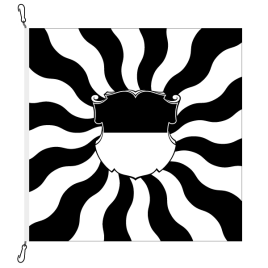Bandiere, fiammeggiate, stampate