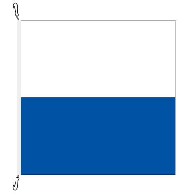 Fahne, Kanton eingesetzt Luzern, 78 x 78 cm