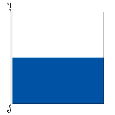Fahne, Kanton eingesetzt Luzern, 100 x 100 cm