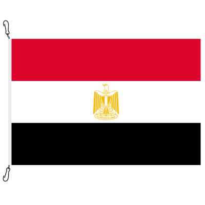 Fahne, Nation bedruckt, Ägypten, 70 x 100 cm