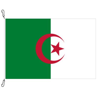 Fahne, Nation bedruckt, Algerien, 70 x 100 cm