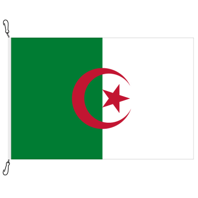 Fahne, Nation bedruckt, Algerien, 100 x 150 cm