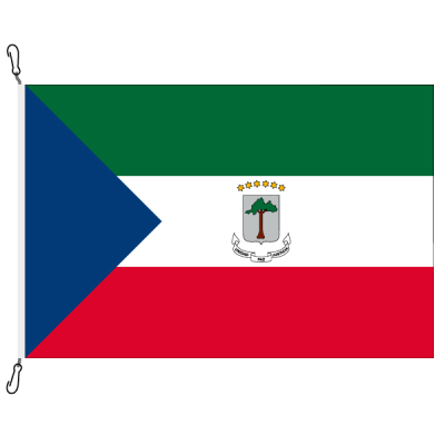 Fahne, Nation bedruckt, Äquatorialguinea, 200 x 300 cm