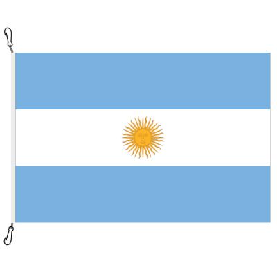 Fahne, Nation bedruckt, Argentinien, 70 x 100 cm