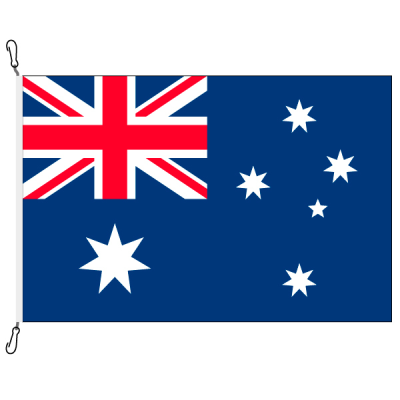 Fahne, Nation bedruckt, Australien, 70 x 100 cm