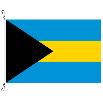 Fahne, Nation bedruckt, Bahamas, 150 x 225 cm