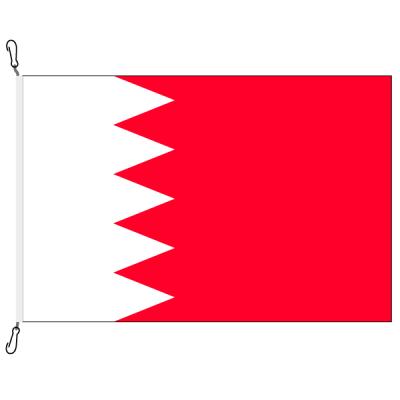 Fahne, Nation bedruckt, Bahrain, 70 x 100 cm