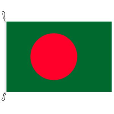 Fahne, Nation bedruckt, Bangladesch, 70 x 100 cm