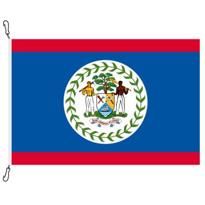 Fahne, Nation bedruckt, Belize, 70 x 100 cm