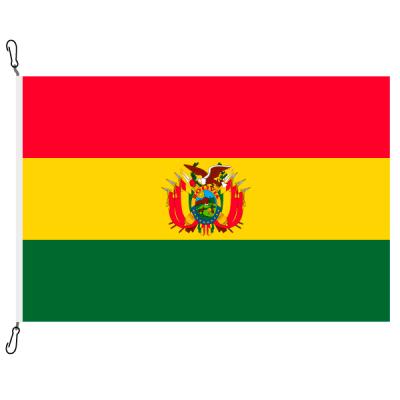 Fahne, Nation bedruckt, Bolivien, 70 x 100 cm