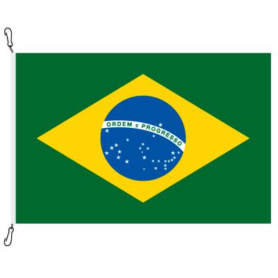 Fahne, Nation bedruckt, Brasilien, 100 x 150 cm