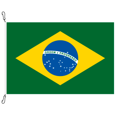 Fahne, Nation bedruckt, Brasilien, 200 x 300 cm