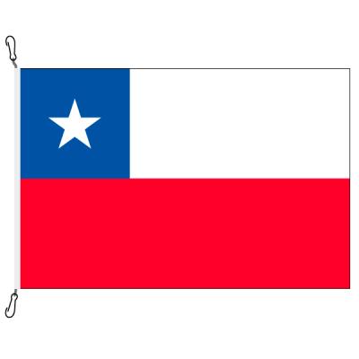 Fahne, Nation bedruckt, Chile, 200 x 300 cm