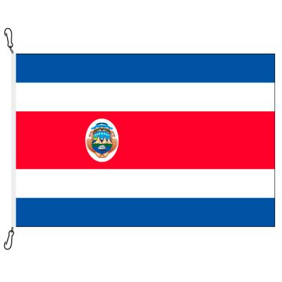 Fahne, Nation bedruckt, Costa Rica, 200 x 200 cm