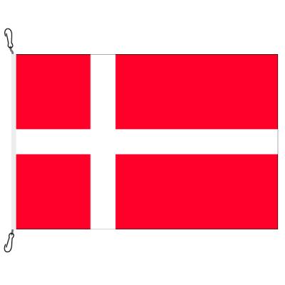 Fahne, Nation bedruckt, Dänemark, 70 x 100 cm