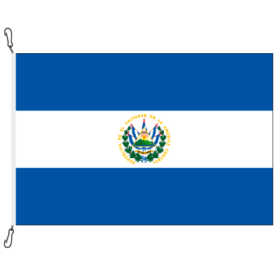 Fahne, Nation bedruckt, El Salvador, 70 x 100 cm