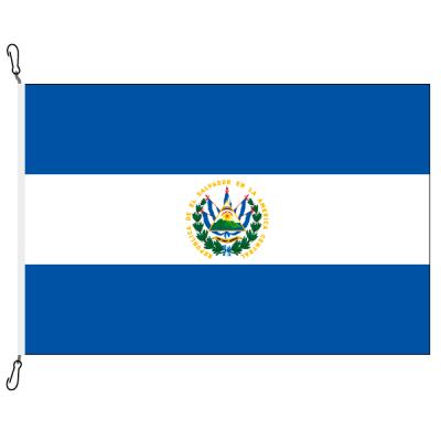 Fahne, Nation bedruckt, El Salvador, 150 x 225 cm