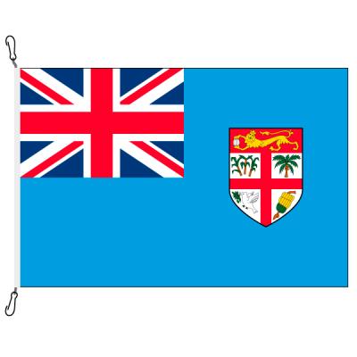 Fahne, Nation bedruckt, Fidschi, 70 x 100 cm
