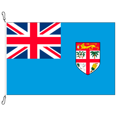 Fahne, Nation bedruckt, Fidschi, 150 x 225 cm