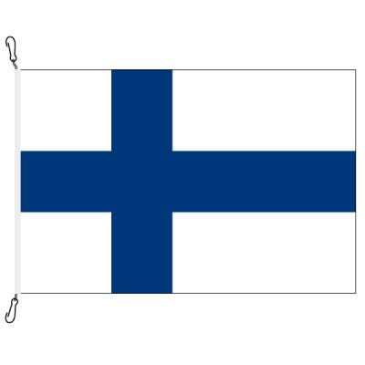 Fahne, Nation bedruckt, Finnland, 70 x 100 cm