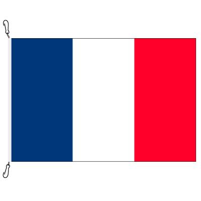 Fahne, Nation bedruckt, Frankreich, 70 x 100 cm