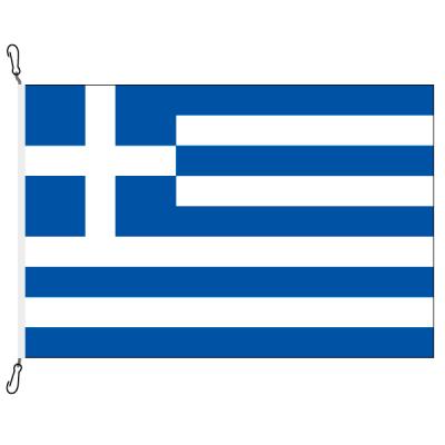 Fahne, Nation bedruckt, Griechenland, 70 x 100 cm