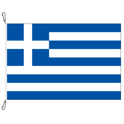Fahne, Nation bedruckt, Griechenland, 150 x 225 cm