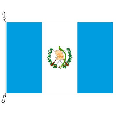 Fahne, Nation bedruckt, Guatemala, 70 x 100 cm