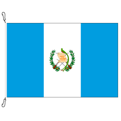 Fahne, Nation bedruckt, Guatemala, 150 x 225 cm
