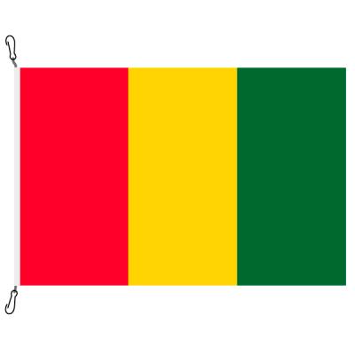 Fahne, Nation bedruckt, Guinea, 70 x 100 cm