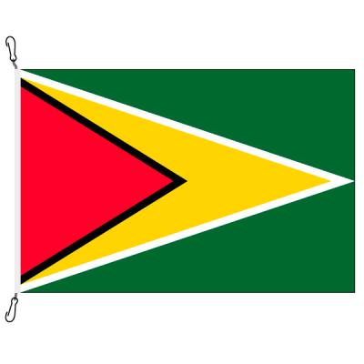 Fahne, Nation bedruckt, Guyana, 150 x 225 cm