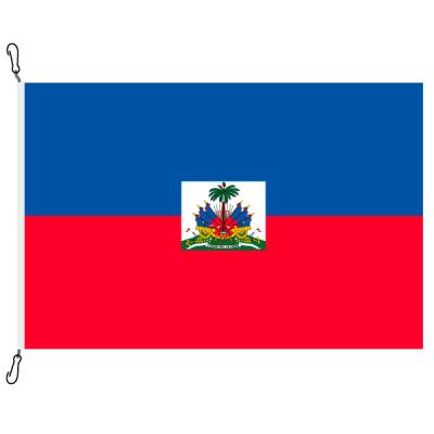 Fahne, Nation bedruckt, Haiti, 70 x 100 cm