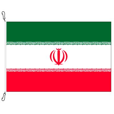 Fahne, Nation bedruckt, Iran, 70 x 100 cm