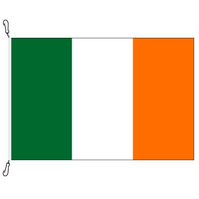 Fahne, Nation bedruckt, Irland, 70 x 100 cm