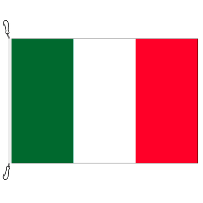 Fahne, Nation bedruckt, Italien, 70 x 100 cm