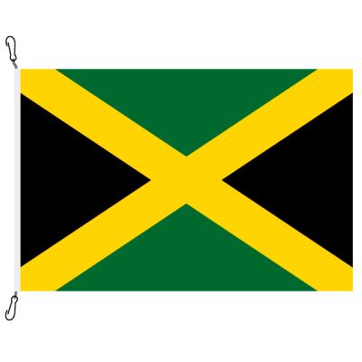 Fahne, Nation bedruckt, Jamaika, 100 x 150 cm