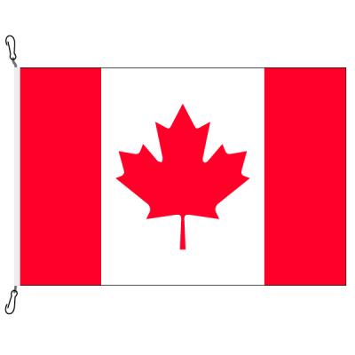 Fahne, Nation bedruckt, Kanada, 70 x 100 cm