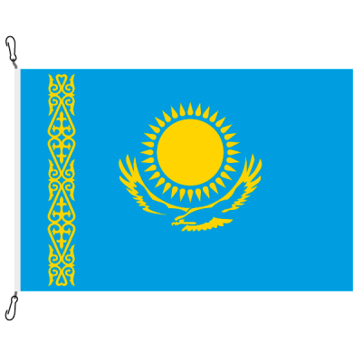 Fahne, Nation bedruckt, Kasachstan, 200 x 300 cm