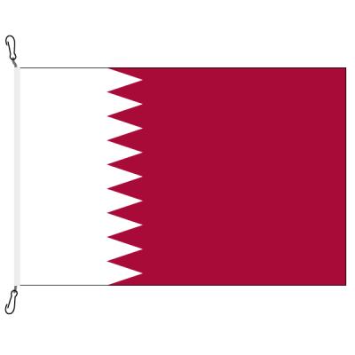Fahne, Nation bedruckt, Katar, 70 x 100 cm