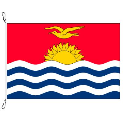 Fahne, Nation bedruckt, Kiribati, 150 x 225 cm