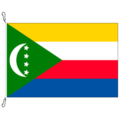 Fahne, Nation bedruckt, Komoren, 100 x 150 cm