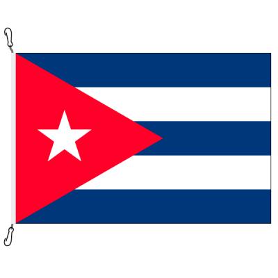 Fahne, Nation bedruckt, Kuba, 70 x 100 cm