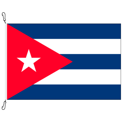Fahne, Nation bedruckt, Kuba, 200 x 300 cm
