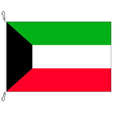 Fahne, Nation bedruckt, Kuwait, 150 x 225 cm