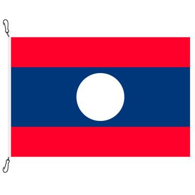 Fahne, Nation bedruckt, Laos, 70 x 100 cm