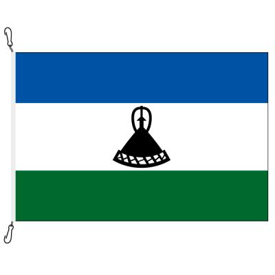 Fahne, Nation bedruckt, Lesotho, 70 x 100 cm
