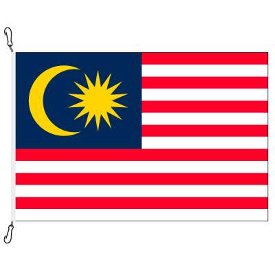 Fahne, Nation bedruckt, Malaysia, 100 x 150 cm