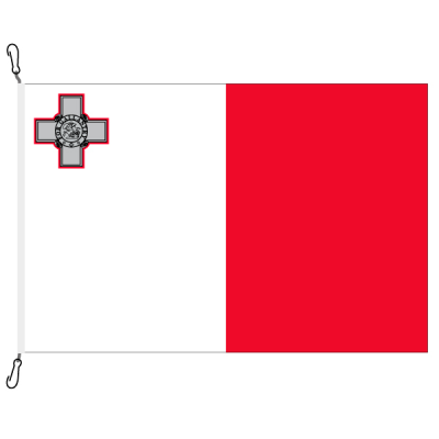 Fahne, Nation bedruckt, Malta, 100 x 150 cm