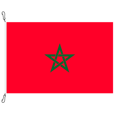 Fahne, Nation bedruckt, Marokko, 200 x 300 cm