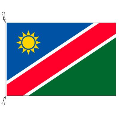 Fahne, Nation bedruckt, Namibia, 70 x 100 cm